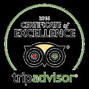 Les Rives TripAdvisor Certificate 2016