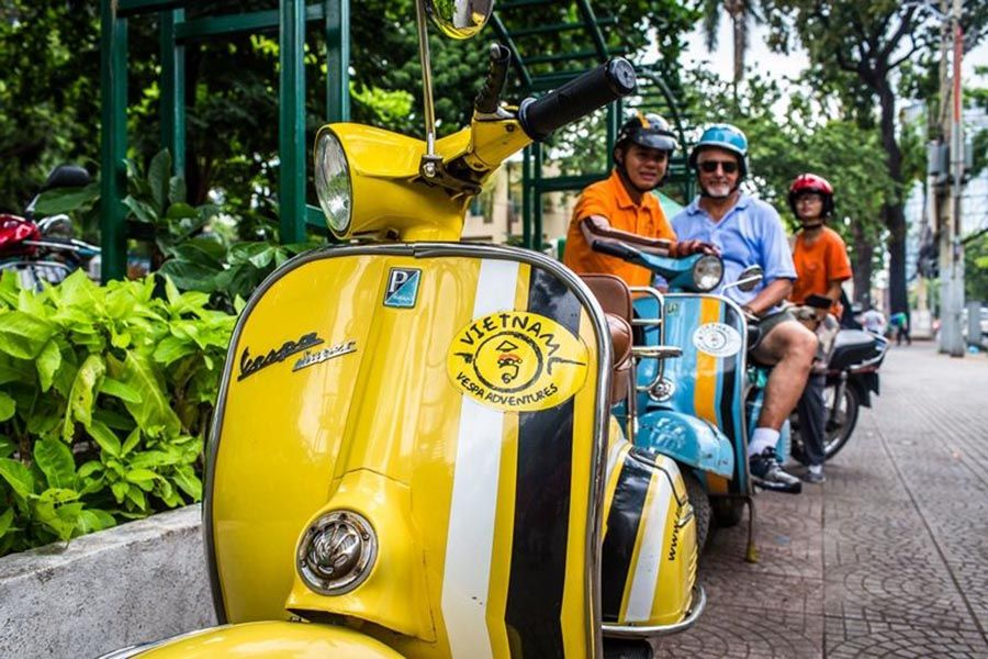 Ho Chi Minh City Tour by Vespa