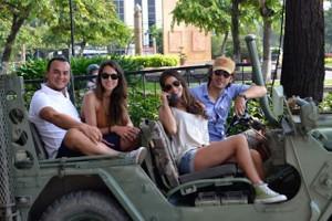 Les Rives Jeep Boat City Tour