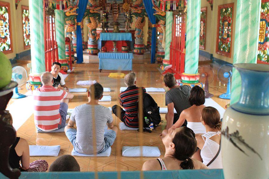 Mekong Delta Tour Cao Dai Temple