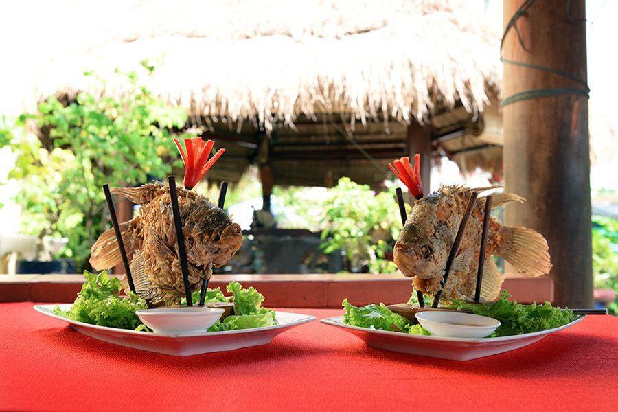 Mekong Delta Tour lunch
