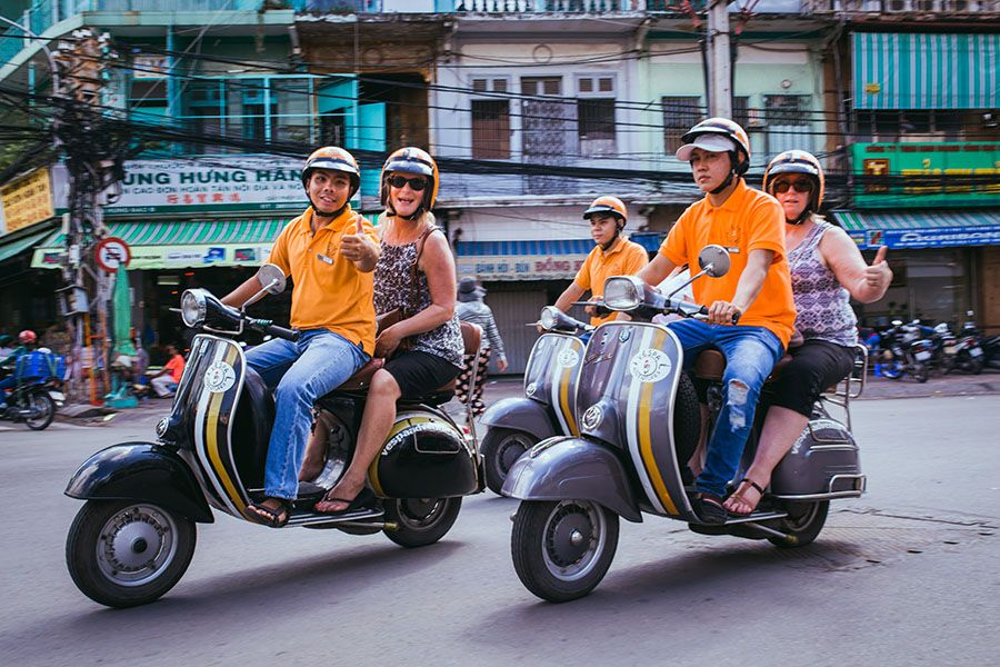 vespa city tour