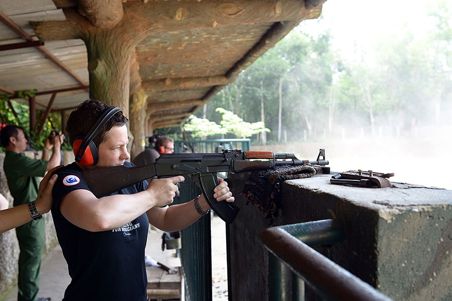 Cu Chi Tunnel Tour Shooting Range