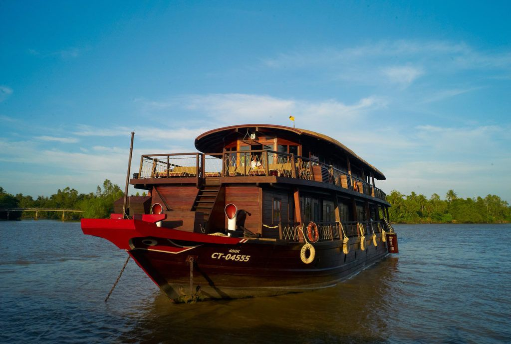 Mekong Delta Tour Bassac Boat