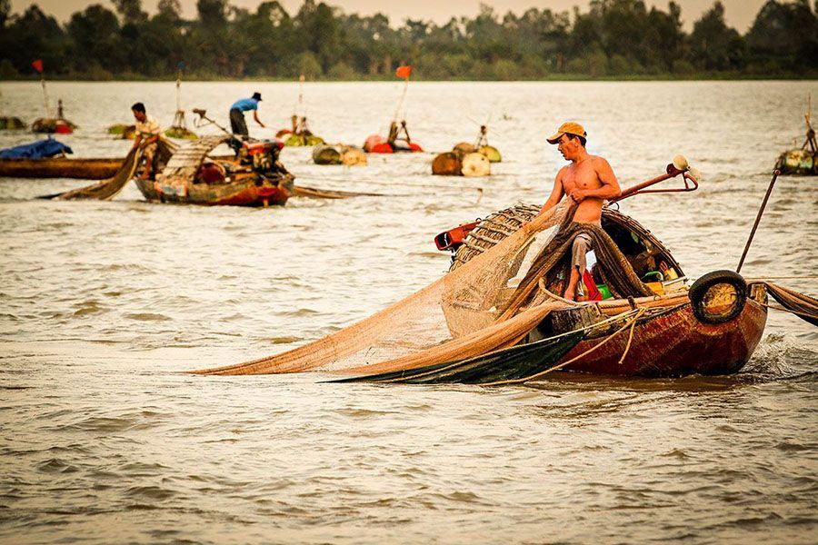 Fisherman Mekong Delta Tour