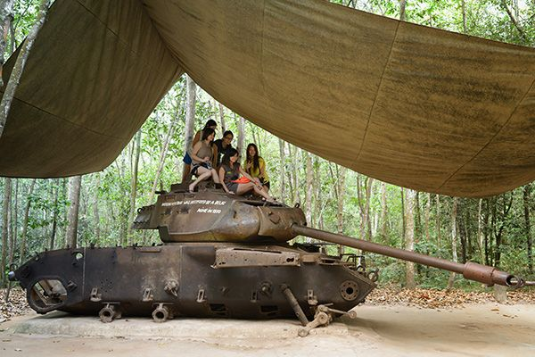Cu Chi Tunnels Tour by Les Rives