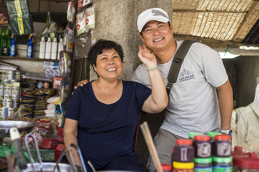 Friendly Local People in Mekong Delta Tour