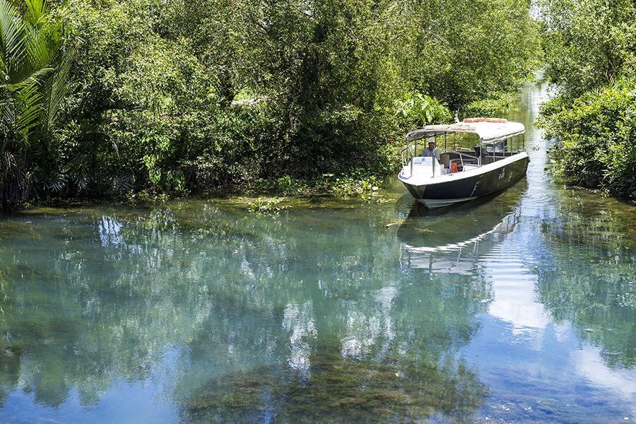 Les Rives boat in Mekong Delta