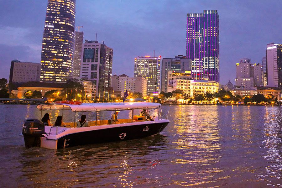 Saigon River Sunset Cruise with Les Rives