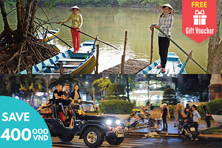 Can Gio Forest Tour and Jeep City Tour