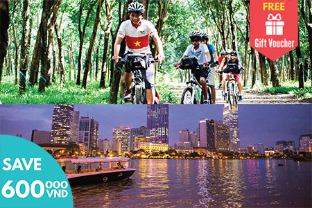 Cu Chi by bike and Sunset Cruise