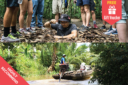 Cu Chi Tunnels and Mekong Delta
