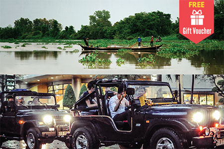 Mekong Jeep City Tour