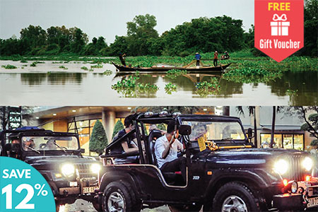 Mekong Delta Tour and Jeep City Tour