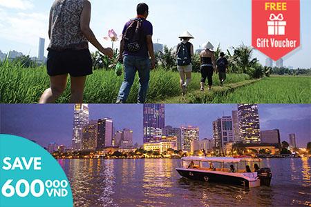 Cu Chi Secret Mekong Delta and Sunset Cruise
