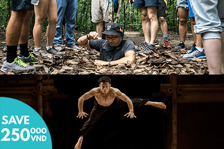 Cu Chi Tunnels and AO Show