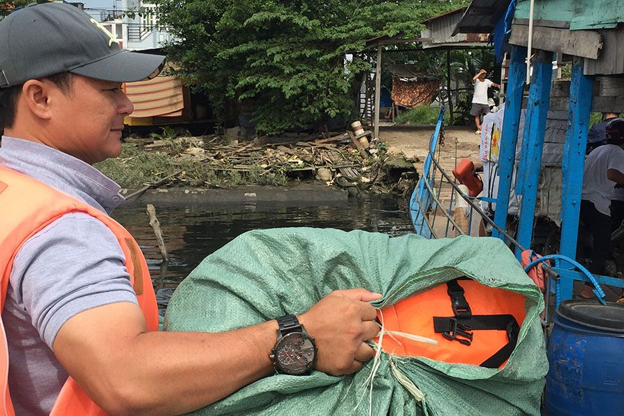 Les Rives Donating Life Jacket