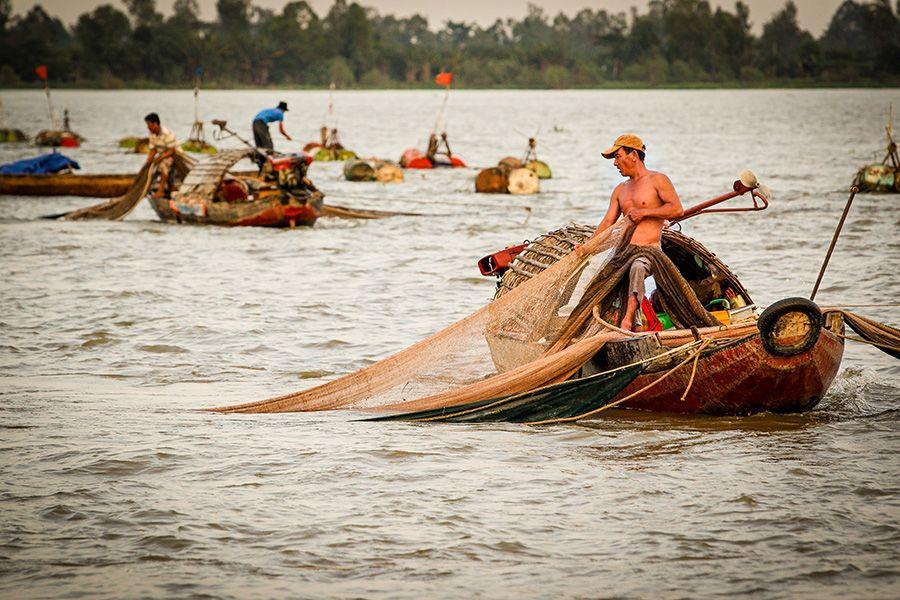 Mekong Delta River Life