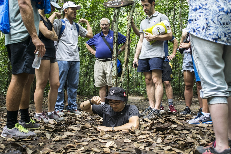 Cu Chi Tunnels Tours | Les Rives Authentic River Experience
