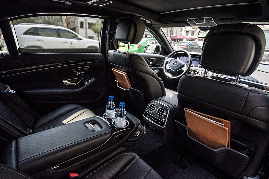 Mercedes-Benz S400 Interior