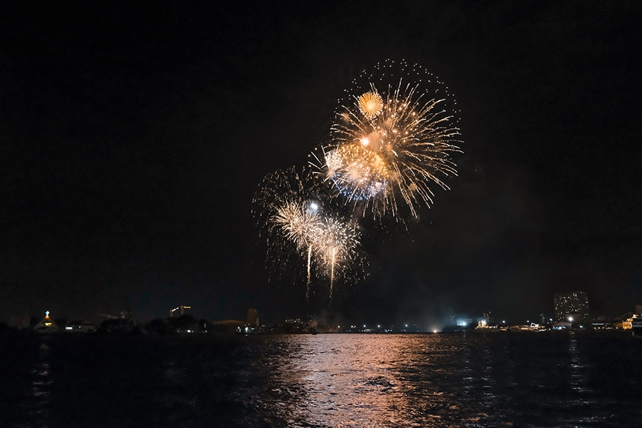 Fireworks Cruise by Speedboat
