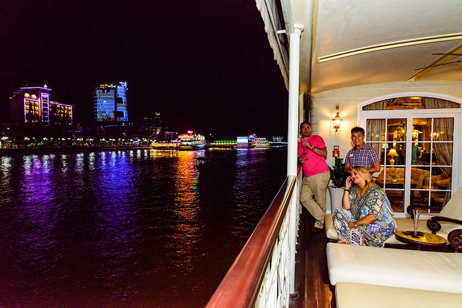 Relax on the Mekong River Cruise