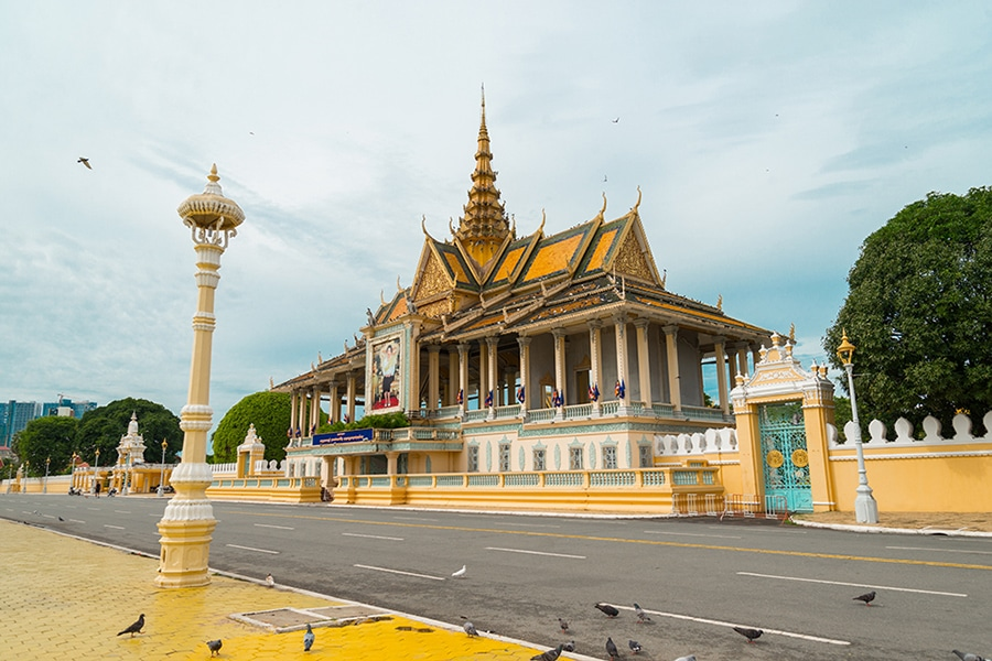 Royal Place in Phnom Penh