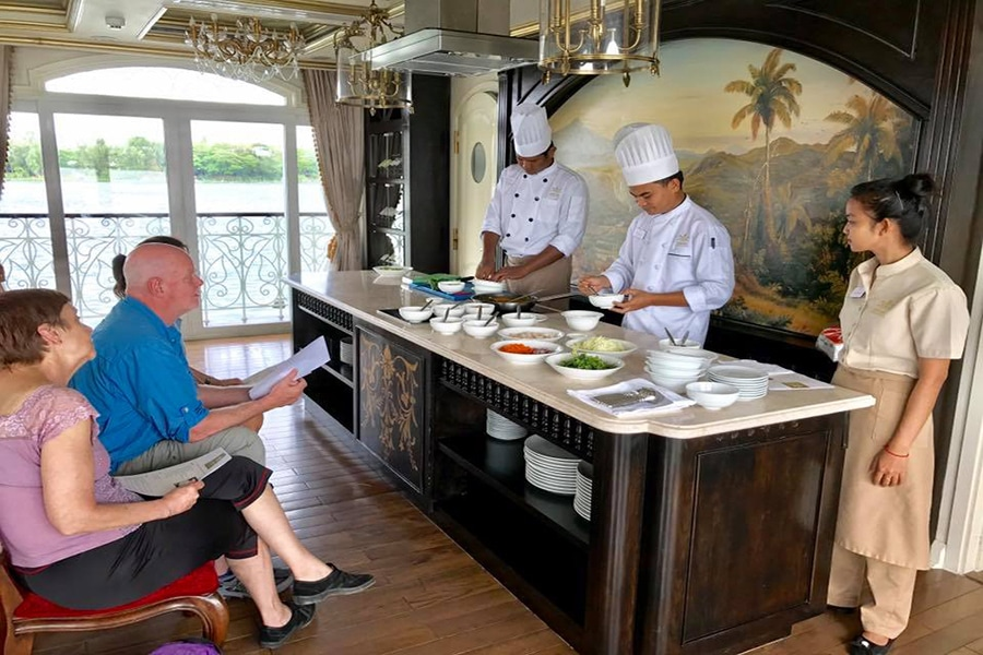 Cooking Class on the Mekong River Cruise